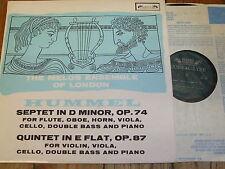SOL 290 Hummel Septet / Quintet / Melos Ensemble of London