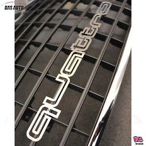 Chrome Quattro Grille Emblem Badge Decal for Audi A1 A3 A4 A5 A6 A7 S3 S4 Sline