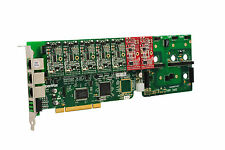 OpenVox A1200P0502 12 Port Analog PCI Base Card + 5 FXS + 2 FXO, Ethernet (RJ45)