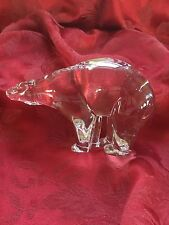 FLAWLESS Exceptional BACCARAT France Crystal OURS POLAIRE POLAR BEAR Figurine