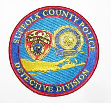 SUFFOLK COUNTY POLICE DEPARTMENT DETECTIVE DIVISION PATCH ~ NEW YORK ~ AWESOME