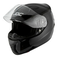 JDC Motorcycle Motorbike Helmet Full Face ECE Approved - PRISM