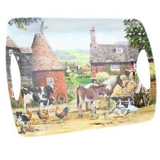 Leonardo All Creatures Great & Small Wildlife Large Tray With Handles