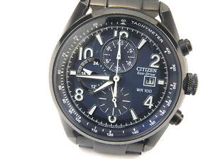 Gents Citizen Eco-Drive B612 Caibre Chrono Watch – 100m