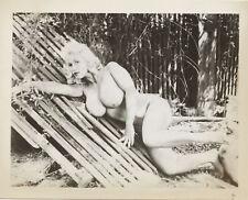 Vint Original Nude Busty Virginia Bell Posing 2    Glossy Photo