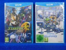 wii U STAR FOX x2 Games ZERO + GUARD Disc Versions NEW & Sealed PAL UK ENGLISH