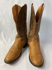 Vintage Nocona bullhide cowboy boots 10D