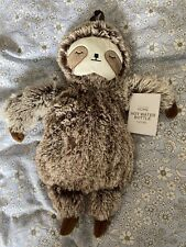 PRIMARK Sloth Hot Water Bottle Primark Cover Plushie Soft Cuddly Warm 1L