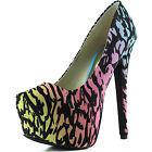 Women's High Fashion Pointed Toe Hidden Platform Sexy Stiletto High Heel