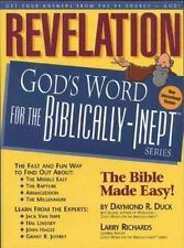 God's Word for the Biblically-Inept: Revelation by Daymond R. Duck (1997, Paperb