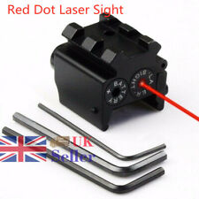 Mini Pistol Red Dot Laser Sight Scope Picatinny Rail Mount For Airsoft Hunting