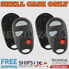 2 for 2000 Nissan Maxima Remote Shell Case Car Key Fob Cover