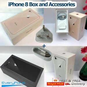 Original iPhone 8 box only with Accessories All Colours 64GB 256GB