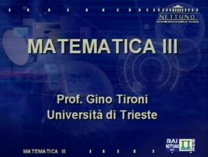 Matematica 3 - Corso universitario di 20 Video Lezioni Online