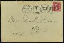 USA 1900 Springfield Flag Slogan Cover #C53021