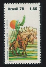 Brazil Cacti Horse Day of the Book MNH SG#1741