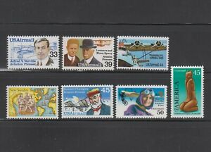 US,C113 / C128,MNH,VF AIRMAIL COLLECTION MINT NH,OG