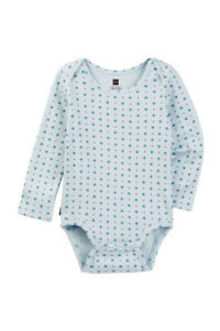 Tea Collection Girls Bodysuit NWT Blue Flower Multiple Sizes and Quantities