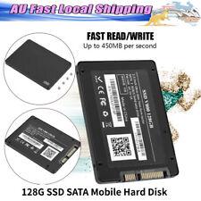 128g SSD SATA Sata3 Interface Mobile Hard Disk 2.5in for Laptop Desktop PC Black