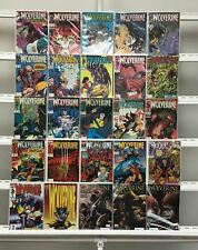 Wolverine  Marvel  25 Lot Comic Book Comics Set Run Collection Box
