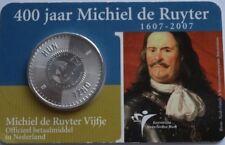 Niederlande / Holland 5 Euro 2007 Coincard 400 jaar Michiel de Ruyter