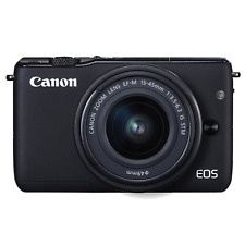 Canon EOS M10 Mirrorless Digital Camera with 15-45mm Lens (Black) US