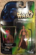 Star Wars Power of the Force Princess Slave Leia Organa Figure! Jabbas Prisoner!