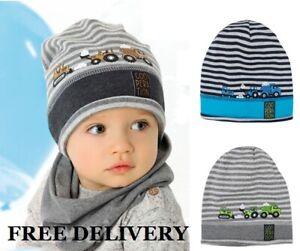 BEANIE Rich cotton boys hat spring BABY BOY KIDS 6-12 & 12-24 months BEAR CAP
