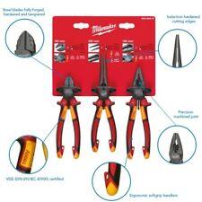 Milwaukee 4932464575 VDE Pliers Set 3 Piece 1000v