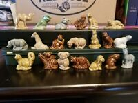 RED ROSE TEA WADE ENGLAND COMPLETE SET 20 AMERICAN SERIES 2 ANIMAL FIGURINES