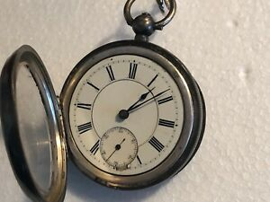 Antique Waltham Pocket watch - sterling silver