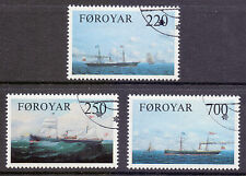 Ships, Boats Used Danish & Faroese Stamps