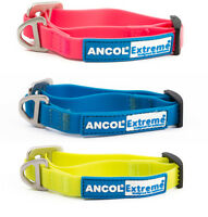 Ancol Extreme Hi Vis Adjustable Silicone Dog Puppy Collar