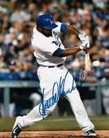 Howie Kendrick Signed Autographed 8X10 Photo LA Dodgers Home Power Swing w/COA