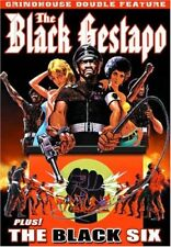 NEW DVD - Grindhouse Double Feature: Black Gestapo (1975)  +The Black Six (1974)