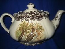 The Royal Worcester Group Palissy Game Series Vintage Teapot  Large