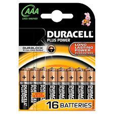 Duracell plus Power Batterie 16 X AAA alkalisch