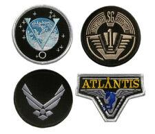 "Stargate SG-1 Atlantis Uniform/Costume Patch [4pc Set -""Velcro Brand"" Fastener]"