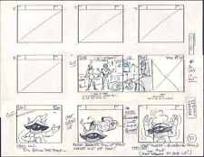 He-Man MOTU original production storyboard ETERNAL DARKNESS Episode 42 1983 p37