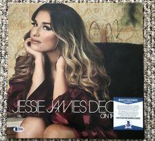 Jessie James Decker Signed Vinyl On This Holiday Beckett Certified