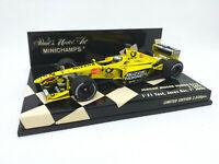MINICHAMPS 1:43 - JORDAN MUGEN HONDA EJ10 T. SATO 1st Jerez Dic 2000 400000099