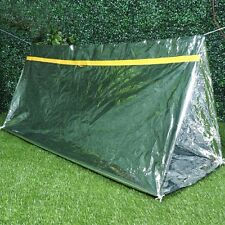 2 Person Tube Tent Emergency Survival Hiking Camping Shelter Outdoor Portable
