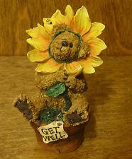 """Boyds Bearstones #227769 Posey B. Goodcheer...Lookin' Up!,  2 Ed NIB """"Get Well"""""""
