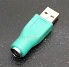 PS/2 PS2 Buchse zu USB 2.0 A Stecker Adapter Converter für Maus Mouse Tastatur