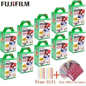 10 - 100 sheets Fujifilm Instax Mini White Film Instant Photo Fuji Foto Camera