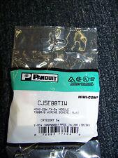 Panduit Mini-Com TX-5e Module T568A/B Wiring Scheme RJ45 Category 5e # CJ5E88TIW