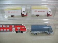 h449-0, 5 #3X Wiking H0 434, Mercedes-Benz, MB, LP 809, Replacement Part, MINT