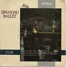 "45 TOURS / 7"" SINGLE--SPANDAU BALLET--LIFELINE / LIVE AND LET LIVE--1982"