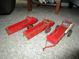 JI Case IH Farmall McCormick Farm Toy Tru Scale Eska Carter 3 Used Spreaders