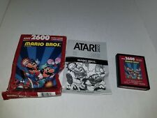 UNUSED MARIO BROS. BROTHERS W/CRUSHED BOX PAL VER FOR ATARI 2600 NOT FOR USA J28